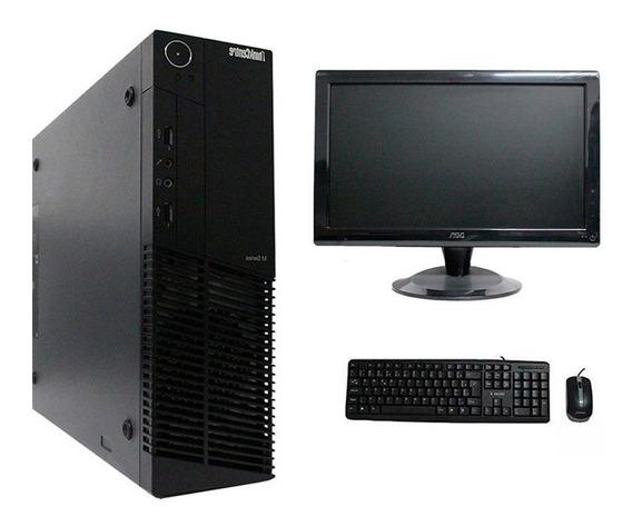 Computador Lenovo Thinkcenter M92 I5 4gb 320gb Monitor 18