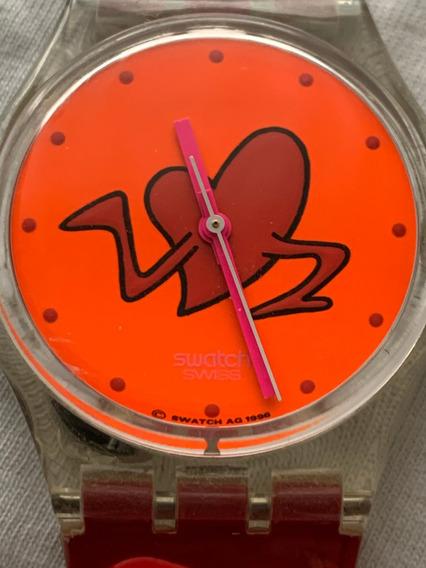 Relogio Swatch Gk217, ( Sain Valentin ) Dia Dos Namorados