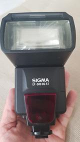 Flash Sigma Ef-500 Dg St Eo Ettl Para Nikon - Frete Grátis