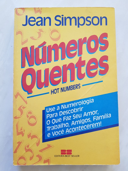 Número Quentes - Hot Numbers - Jean Simpson