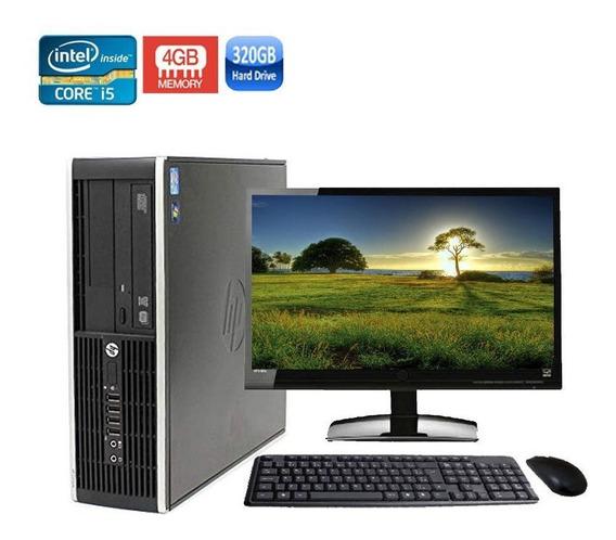 Computador Completo Hp 8200 Sff Core I5 4gb Hd 320gb + Wi-fi