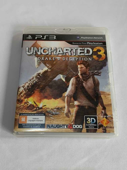 Uncharted 3 Darkes Deception Playstation 3jogo Original Ps3