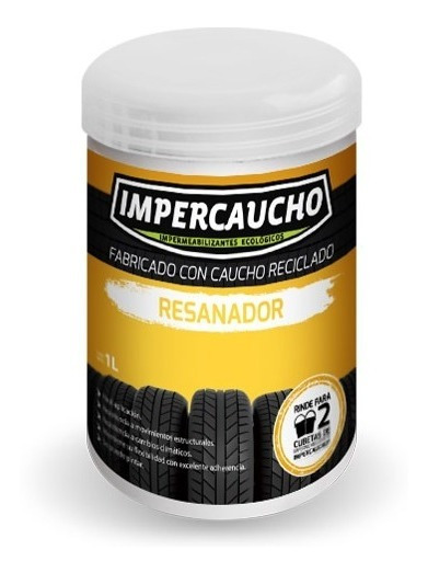 Resanador Envase 750ml Pasta Impercaucho Grietas Y Fisuras