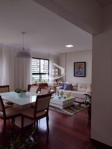 Imagem 1 de 30 de Apartamento, Venda, Pituba, 3 Quartos, 2 Vagas, 116 Metros, Excelente! - Ap0450