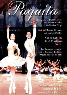 Paquita-agnes Letestu, Jose Martinez, Ballet Opera De Paris