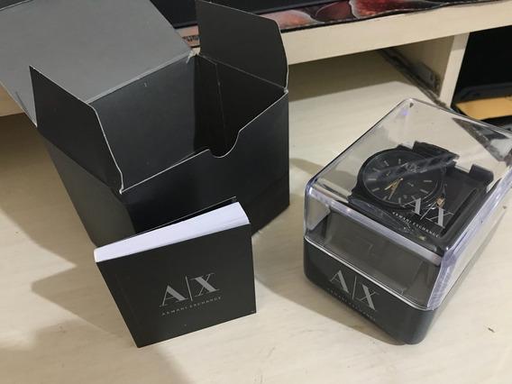 Relógio Armani Exchange Original Usado + Caixas E Manual