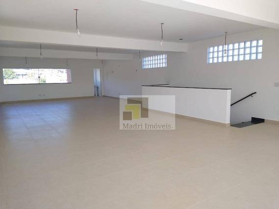 Prédio Comercial/galpão Para Alugar, 340 M² Por R$ 8.000/mês - Vila Anastácio - São Paulo/sp - Ga0038