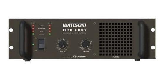 Amplificador De Potência - Ciclotron Dbk 6000