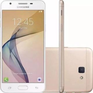 Celular Samsung Galaxy J5 Prime Dourado Novo S/ Caixa 32gb