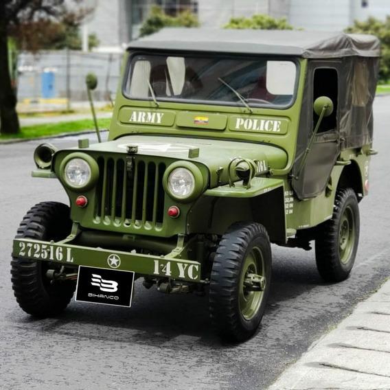 Jeep Willys Cj3 1952