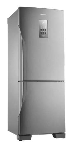 Geladeira/refrigerador 425 Litros 2 Portas Aço Escovado - Panasonic - 220v - Nr-bb53pv3xb