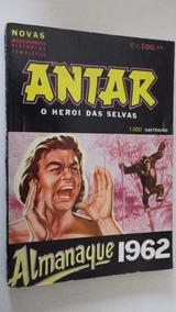 Antar O Heroi Das Selvas Almanaque 1962 Editormex