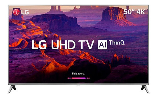 Smart Tv Led 50 LG 50uk6510 Ultra Hd 4k Com Conversor