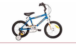 Bicicleta Rodado 16 Bmx Varon Nene Halley 19050