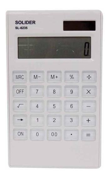 Calculadora Pequena 12 Digitos Sl6235 / Un / Solider