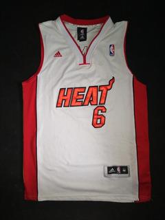 Camiseta Nba Miami Heat Lebron James adidas Original