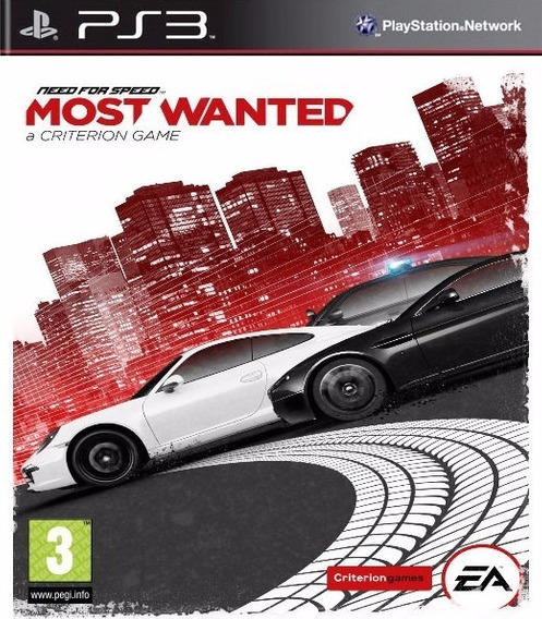 Need For Speed Most Wanted Ps3 Psn Envio Na Hora!