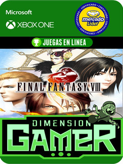 Final Fantasy Viii - Xbox One Modo Local + En Linea