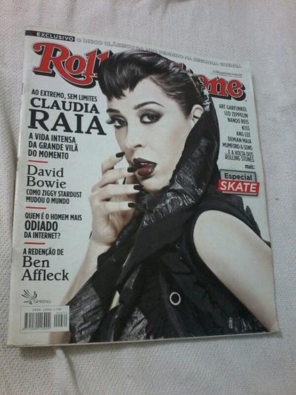 Revista Rolling Stone Cláudia Raia Ben Affleck David Bowie