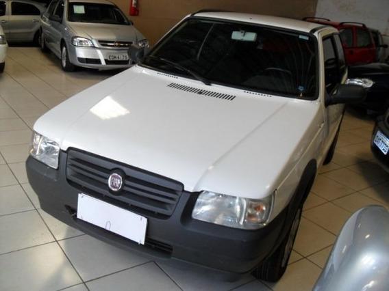 Fiat Uno Way Economy 1.0 Mpi 8v Flex 2013 Branca {cod0022}