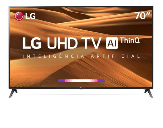 Smart Tv 4k 70 Lg Led Uhd Um7370psa Hdr 3 Hdmi 2 Usb