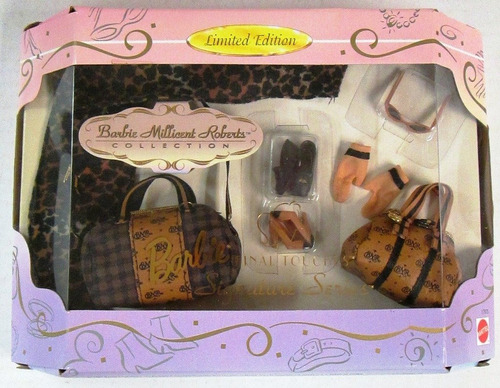 Imagem 1 de 7 de Bolsa Barbie Super Luxo Rara Collector Signature Mattel Top