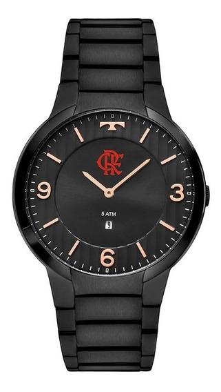 Relógio Technos Masculino Flamengo Flagl15am/4p Aço Oficial