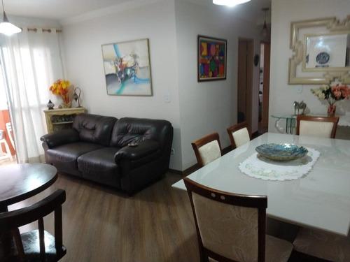 Apartamento Com 3 Dormitórios À Venda, 84 M² Por R$ 750.000,00 - Vila Carrão - São Paulo/sp - Ap3389