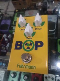 Pedal Para Guitarra Fuhrmann Overdrive Bop Semi Novo Loja !!