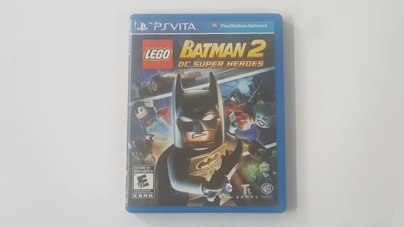 Lego Batman 2 Dc Super Heroes - Ps Vita - Original