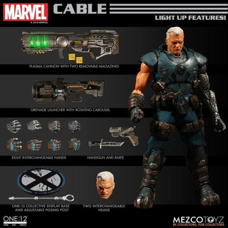 Mezco One:12 Cable Marvel One:12 Collective