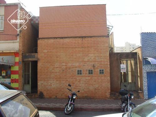 Apartamento Com 1 Dormitório Para Alugar, 25 M² Por R$ 550,00/mês - Centro - Ribeirão Preto/sp - Ap1181