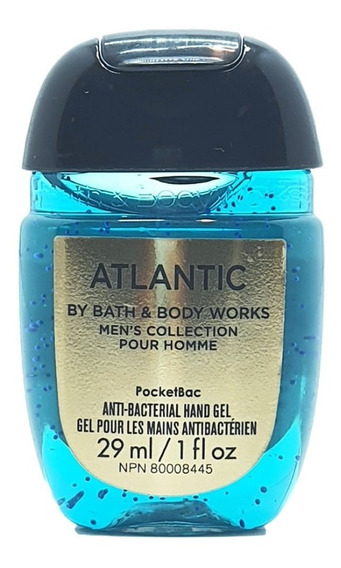 Gel Antibacterial Bath & Body Works Atlantic 29 Ml