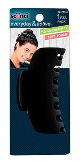 Pinza Mediana Antiderrapante Soft Touch Scunci 32475mx
