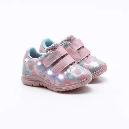 Tênis Ortopé Baby Dna Light Pink Orginal C/nota