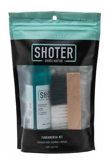 Limpia Zapatillas Shoter - Kit (limpiador Premiun + Cepillo)