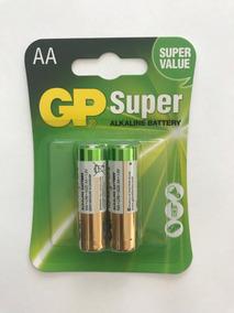 Pilha Aa Alcalina Gp (4 Caixas C/10 Cartelas De 2 Unidades)