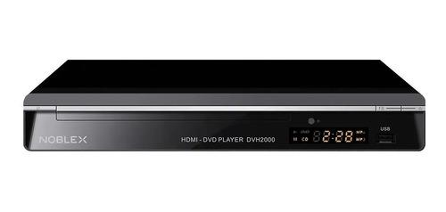 Reproductor De Dvd Con Hdmi, Usb, Mp3 Y Cd - Noblex Dvh2000