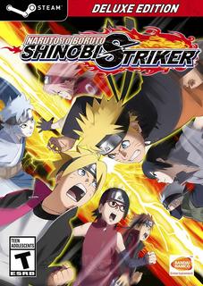 Naruto To Boruto Shinobi Striker Deluxe Edition Pc Español-+
