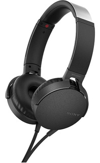 Fone De Ouvido Sony Com Microfone Bass Mdr Xb550 Preto
