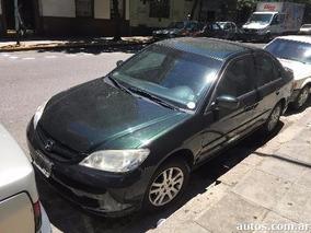 Honda Civic 2004 1.7 Lx . Anda Perfecto. Dueño Directo