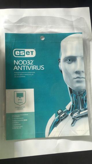 Eset Nod32 Antivirus 1 Pc-1 Ano Ativação Online