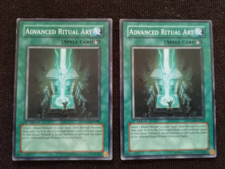 2 Advanced Ritual Art Ston-en045 Yugioh