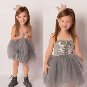 Vestido Infantil De Festa Lol Princesa Brilho Bailarina