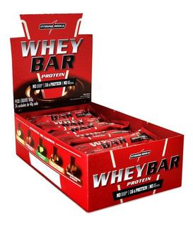 Whey Bar 24 Unidades - Integral Médica - Barrinha Integral