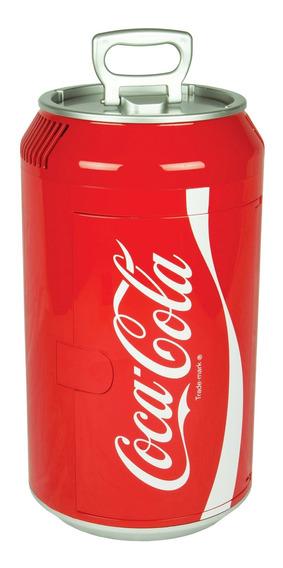 Mini Cooler Coca Cola Termoelétrico 8 Latas - Bivolt