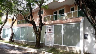 Casa Cinco Suites Em Condomínio Fechado Em Charitas - Ca0620