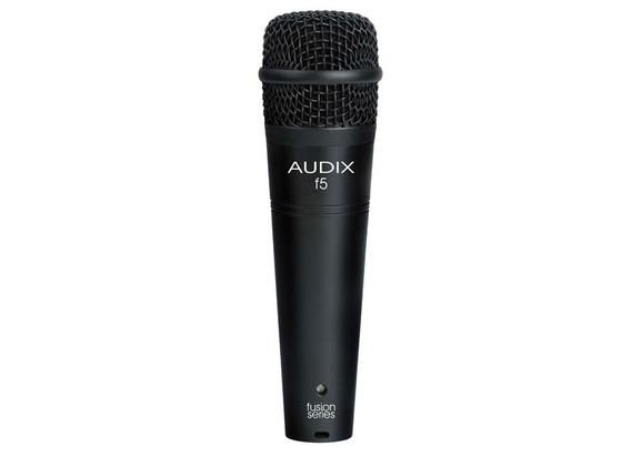 Microfone Audix F5 Dinâmico P/ Instrumentos - Hipercardióide