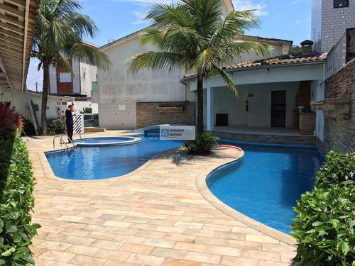 Casa De Condomínio Com 3 Dorms, Canto Do Forte, Praia Grande - R$ 440 Mil, Cod: 2150 - V2150