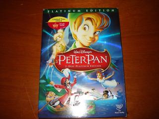 Peter Pan, Platinum Edition, 2 Discos, Nueva